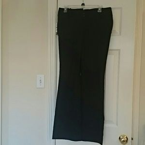 NWT The Limited size 8 black exact stretch pants